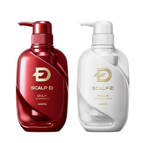 Price comparison product image Scalp D Medical Shampoo 2016 (Oily skin type)  Scalp D Medical Scalp Pack Conditioner 2016 (for all skin type) SET