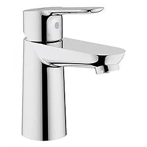 Grohe 23330000 Bauedge - Grifo de lavabo 35mm, cuerpo liso