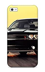 For Iphone 5c Premium Tpu Case Cover Dodge Challenger Protective Case