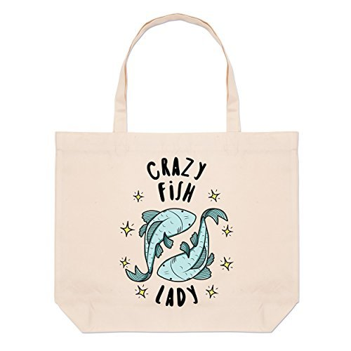 Bags Fish Bag Star Crazy Woman Big Beach Zqg7nz1w