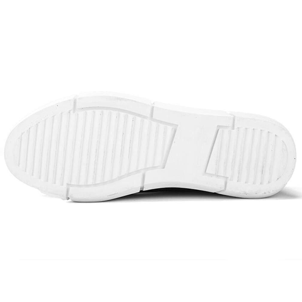 Willsego scarpe da ginnastica in Pelle per Il Il Il Tempo Libero all'Aria Aperta Moda Versatile Assorbimento degli Urti Traspirante (colore   Nero, Dimensione   EU 40) ff6b86