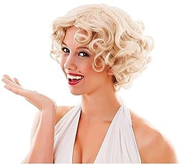EUROCARNAVALES Peluca Rubia Marilyn