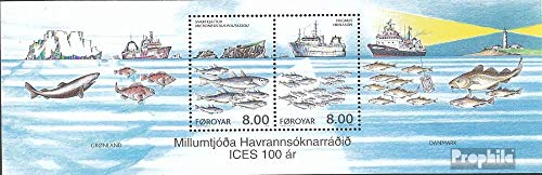 Denmark - Faroe Islands block14 (Complete.Issue.) 2002 Marine (Stamps for Collectors) Water Animals