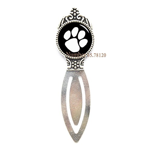 - Dog Lover Gift, Dog Mom Gift, Puppy Bookmark, Dog Paw Jewelry, Paw Print Charm, Dog Jewelry,Pet Memorial, Paw Print Bookmarker,BV288 (V1)