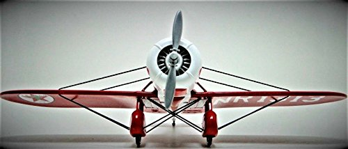 High End Aircraft Model Airplane Collectible 1 Museum Quality Collector Metal 32 Vintage Antique Military Race 1920 1930 USAF Armour 72 Pre Built 48 Rare Diecast 18 Carousel Red Investment Grade Scale