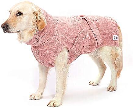Lill's Hundebademantel, 100% Bio Baumwolle, Organic
