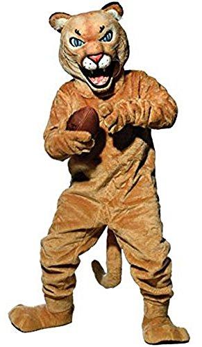 Puma/Cougar Mascot Costume -