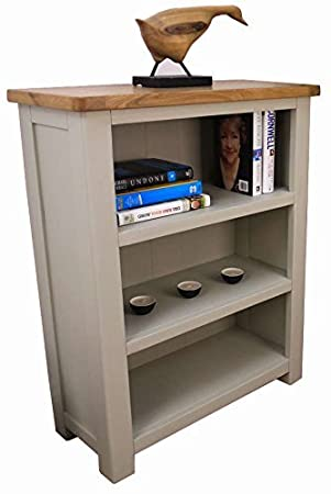 timeless design cf3bf 7068a Aspen Painted Oak Sage/Grey Bookcase/Small 3 Shelf Bookcase/Storage Display  Unit
