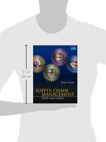 Supply Chain Management By Janat Shah Pdf