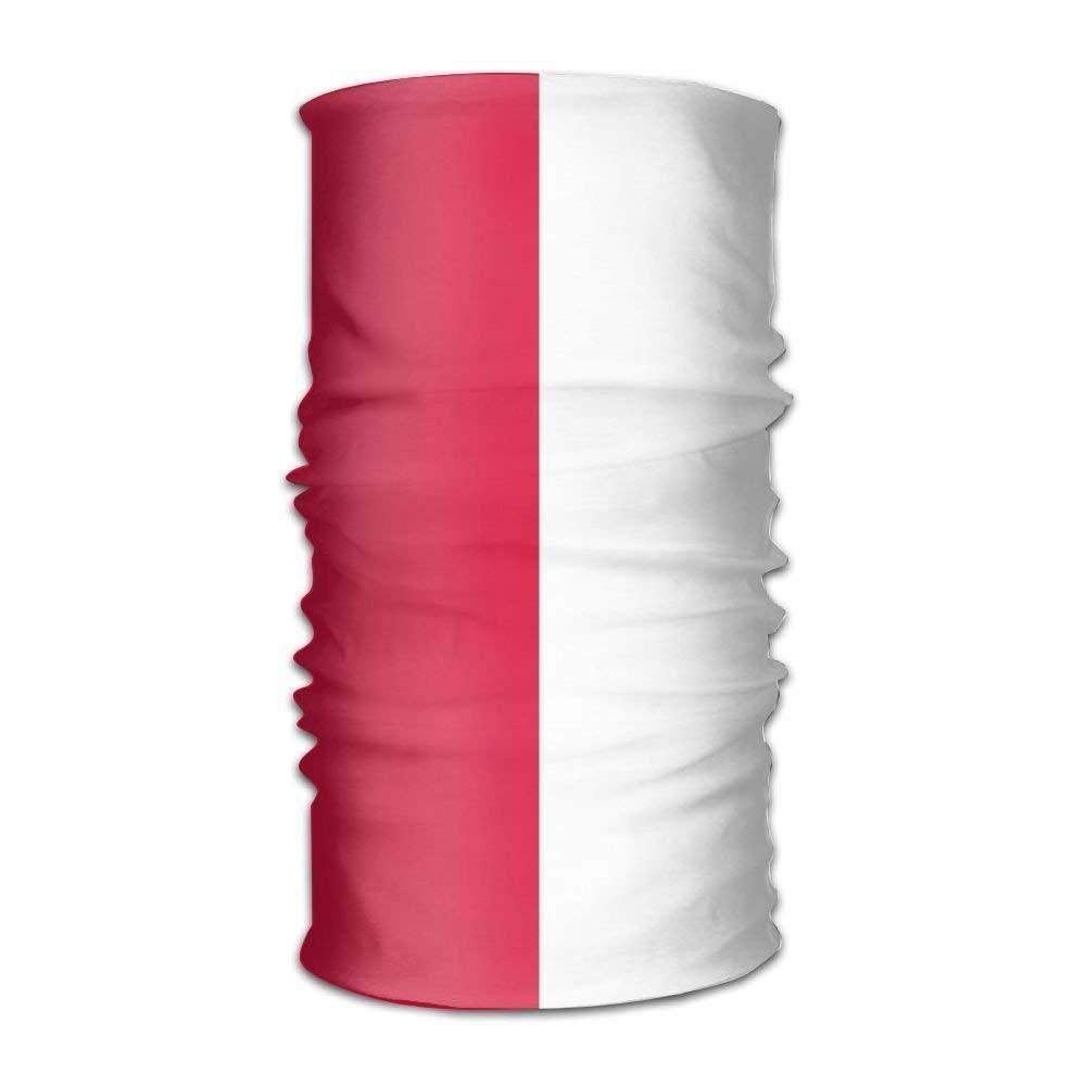 Vidmkeo Magic Headwear Polish Flag Bandana Tube Scarf Headbands Fashion17