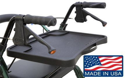 Practitray Foldaway Rollator Tray For Nova Rollators (Black)