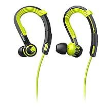 Philips SHQ3400CL ActionFit In-Ear Sport Headphone SHQ3400 Carbon Lime