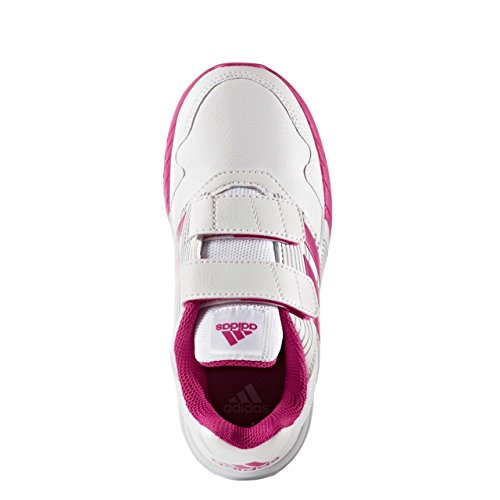 adidas Kinder Laufschuhe AltaRun CF K ftwr white/bold pink/mid grey s14 37 1/3