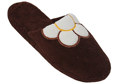 New Women's Fleece Spa Slide Slippers Available in 4 Colors sunville