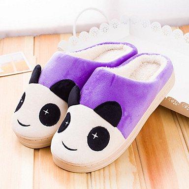 Sandalias de verano zapatos de hombre casual zapatillas de algodón de varios colores Fucsia