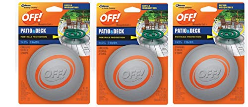 SC Johnson Off! Patio and Deck Coil Tin (Pack – 3) For Sale