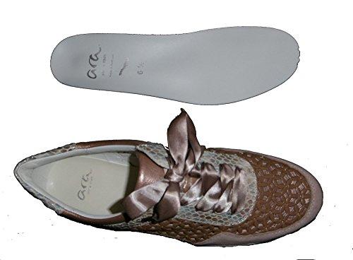 Sneaker Ara Taupe Kvinde 34020 12 Nøgen Puder Lissabon q7wz5CHx