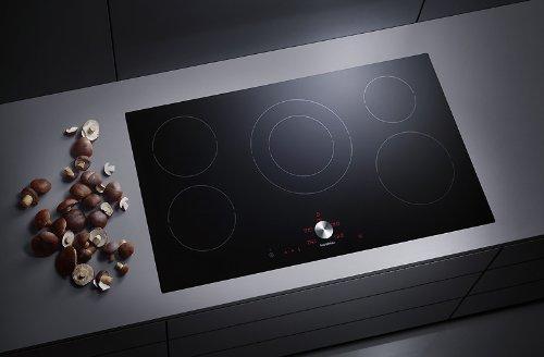 NIB GAGGENAU 36 Inch Twist Pad 5 Cooking Zones Black Induction Cooktop  CI491602