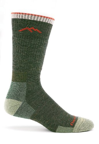 Darn Tough Merino Wool Boot Socks Cushion - Men's Olive X-La