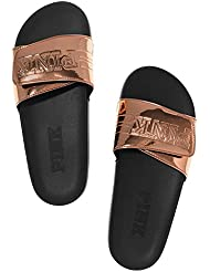 Victorias Secret PINK Crossover Comfort Slide Sandals Shoes