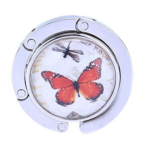 Bag Hook Hanger Foldable Metal Butterfly Purse Bag Hanger Handbag Table Hook For Design By [Zhao Liang]