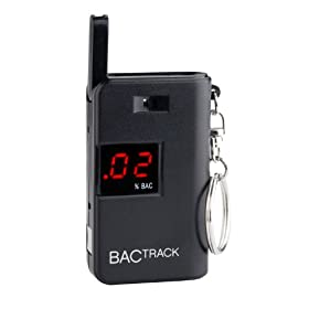 BACtrack Keychain Breathalyzer Portable Keyring Breath Alcohol Tester