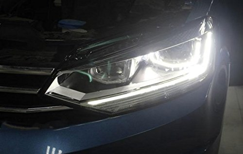 GOWE Car Styling For VW Touran headlights 2016 -For Touran head lamp led DRL front Bi-Xenon Lens Double Beam HID KIT Color Temperature:4300k;Wattage:55w 0