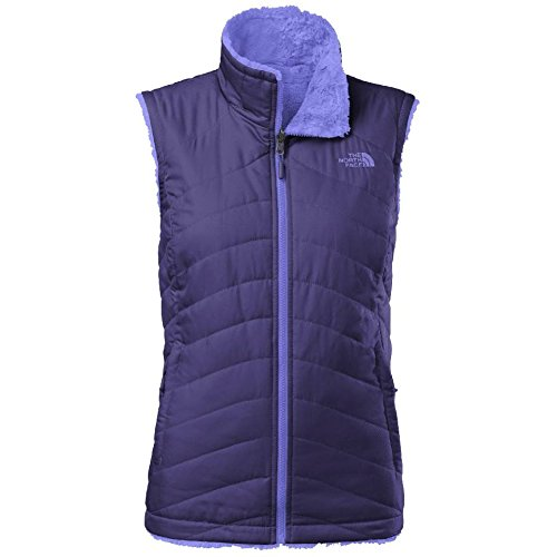 North Face Women's Mossbud Swirl Reversible Vest Garnet P...