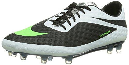 (Nike [599843-031] Mens Hypervenom Phantom FG Mens Sneakers NIKEBLACK/NEO Lime-WHITEM)