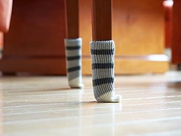 Boden Schutz Stuhl Socken 2 X 4 Stück. Niedlich Dehnbar Möbel Bein Beute In  Stilvollen