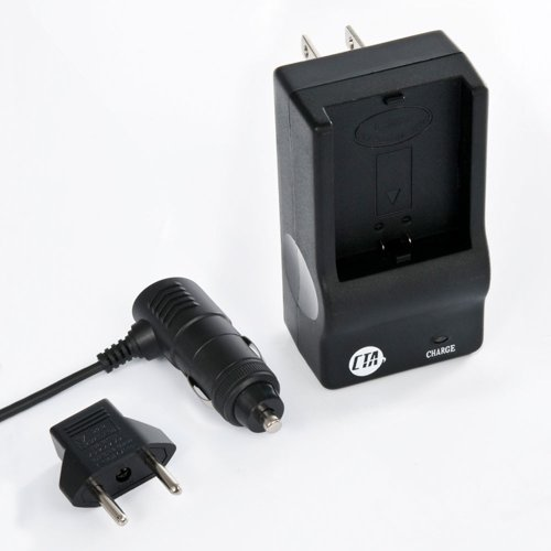 CTA MR-NB5L Mini Battery Charger Kit for Canon NB-5L Battery ()