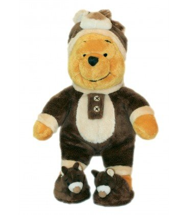 COLLECTOR - Peluche doudou Winnie lOurson The Pooh déguisé en ours - MP WN