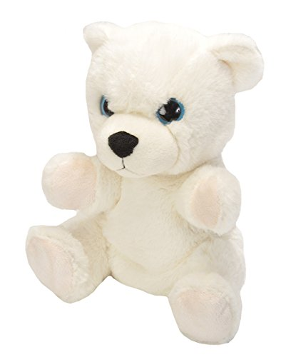 - Wild Republic Hand Puppet Stuffed Plush Toy Gifts for Kids, Polar Bear, 9