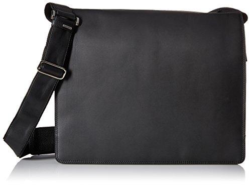 Visconti Visconti Harvard X-large Crossbody Messenger Bag, Black, One Size by Visconti
