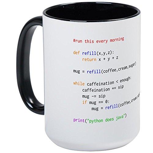 Computer Mug (CafePress - Large Mug - Coffee Mug, Large 15 oz. White Coffee Cup)