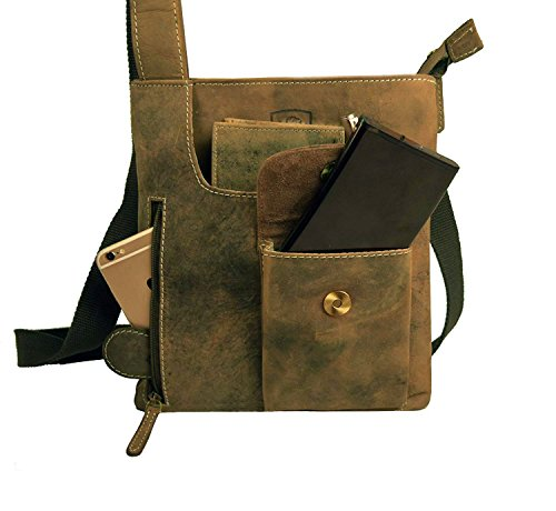 Leather Messenger Wilson London Shoulder Unisex Distressed Hunter Crossover J Pure Handmade London Wilson J 100 Vintage Bag Real 1PqHRax