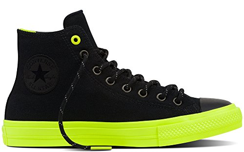 Converse Unisex Chuck Taylor All Star II Hi Casual Shoe Black