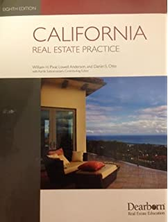 Amazon california real estate principles 9781475421804 california real estate practice fandeluxe Images