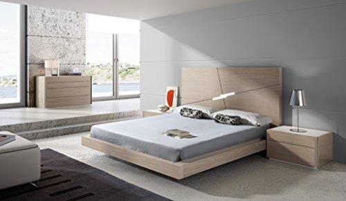 J and M Furniture 18145-K Evora King Size Bed