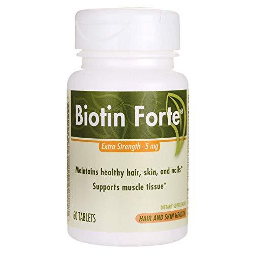 Biotin Forte, 5mg, Tablets, 60 ea