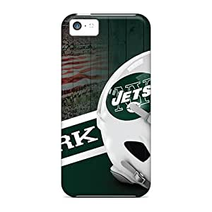 MansourMurray Iphone 5c Best Hard Phone Cases Provide Private Custom HD New York Jets Series [MSK5897WOlc]