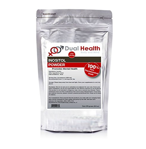 - Pure Inositol Powder (250 grams 8.8 oz) Bulk Supplements