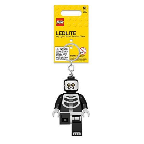 레고 몬스터 파이터 해골 LED 키 체인 라이트-3 인치 높이 그림