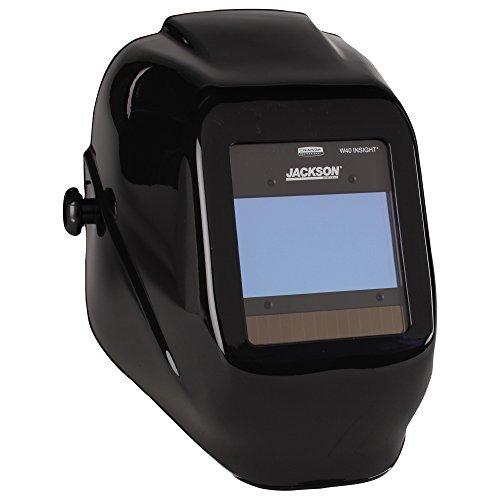 Jackson Safety W40 Insight Variable Auto Darkening Welding Helmet, HaloX, Black (40713), 1 Unit