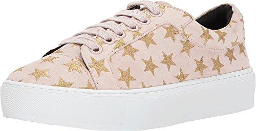 Rebecca Minkoff Women's Nadia Galaxy Print Sneakers, Pink, 6.5 M US
