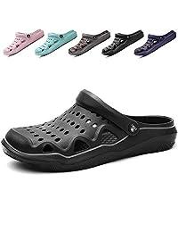6ffa83625beeff Jusefu Men Women Garden Clog Summer Breathable Walking Sandals Slippers  Lightweight Beach Shower Footwear Water Shoes