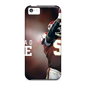 Top Quality Rugged Kansas City Chiefs Case Cover For Iphone 5c