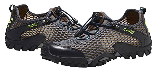 Mohem Titans Casual Trail Sneakers Outdoor Wandelschoenen Voor Heren Grey820