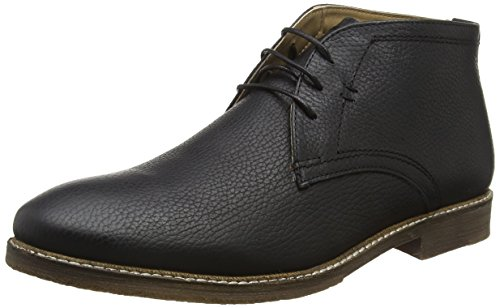 Red Tape Wimpole, Botas Chukka para Hombre Black (Milled Black)