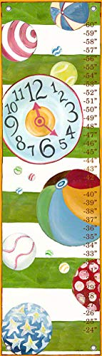 Oopsy Daisy Growth Charts Motion by Shelly Kennedy, 12 by 42-Inch